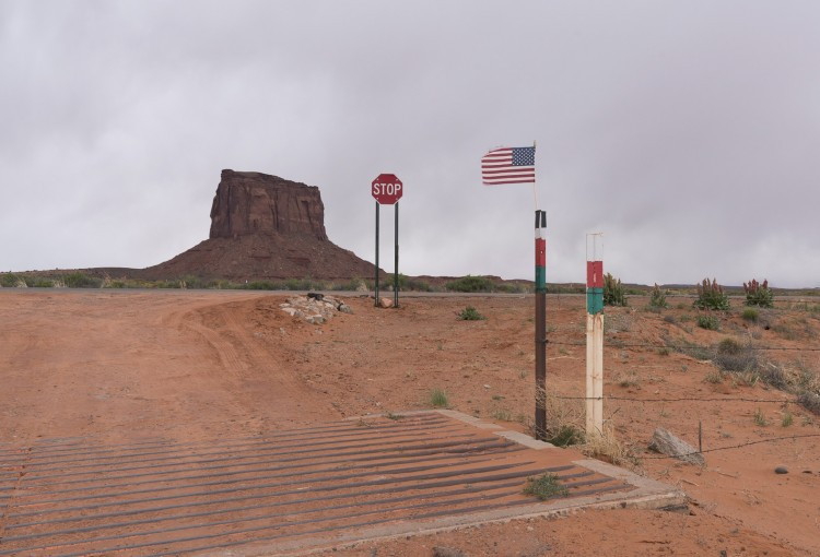 ROADSIDE- FRAYED AT MONUMENT VALLEY