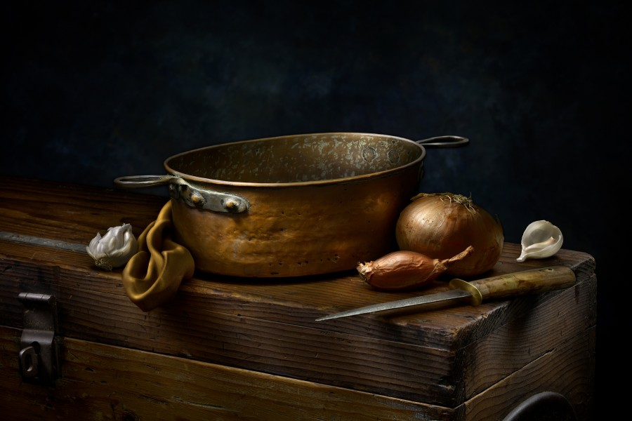 Still Life with Copper Pot