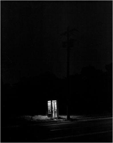 Telephone Booth, 3 am, Rahway, NJ