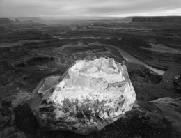 White Boulder, Canyonlands, Dead Horse Point, Utah