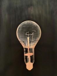 Large Incandescent Bulb, Pink Version