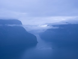 Fjord, Aurland, Norway