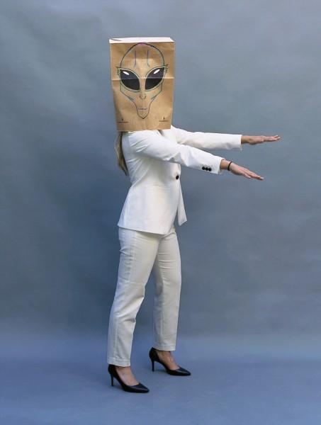 Alien in a Pantsuit