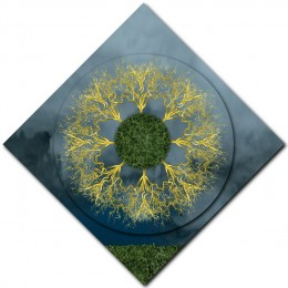 Gold Discharge Mandala – 2 DIAMOND ORIENTATION