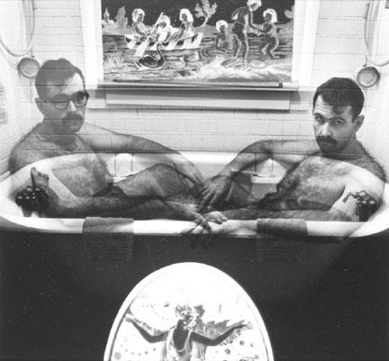 Self Portrait as Robinson & Rejlander: Jerry Uelsmann