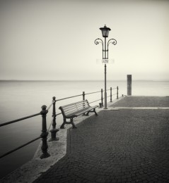 Bench & Lamp Post, Italy