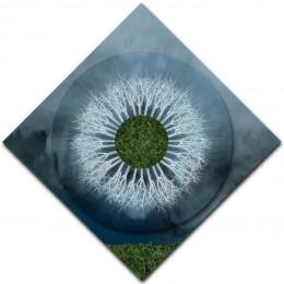 Silver Field Mandala – DIAMOND ORIENTATION