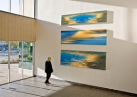 Ontario: Entrance Lobby with Larry Vogel photography from Waterworks