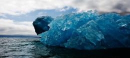Overturned Iceberg, Qassiarsuq, S. Greenland (A)