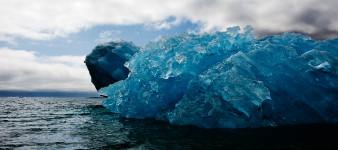 Overturned Iceberg, Qassiarsuq, S. Greenland