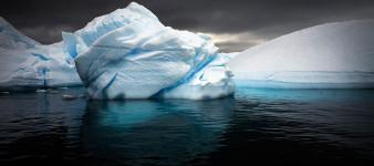 Rounded Bergy Bit, Antarctic Peninsula