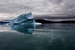 Iceberg in Green Water, Qassiarssuq, Greenland