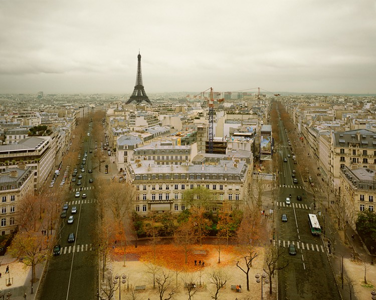 Paris from Arc de Triumph, Paris