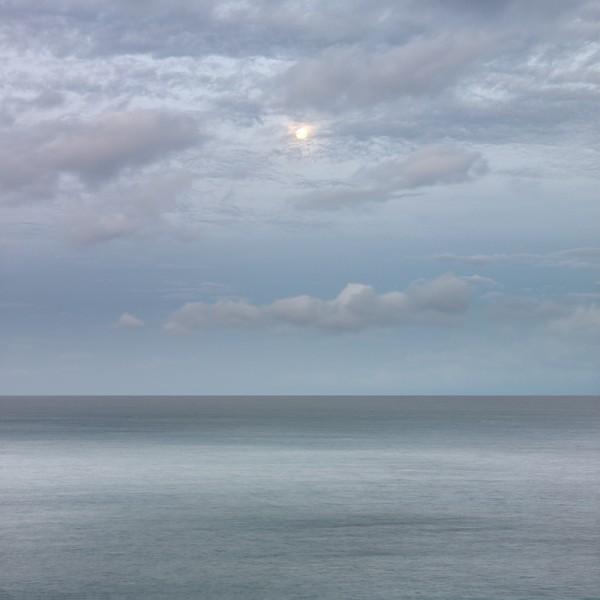 Setting Moon, Maui, Hawaii