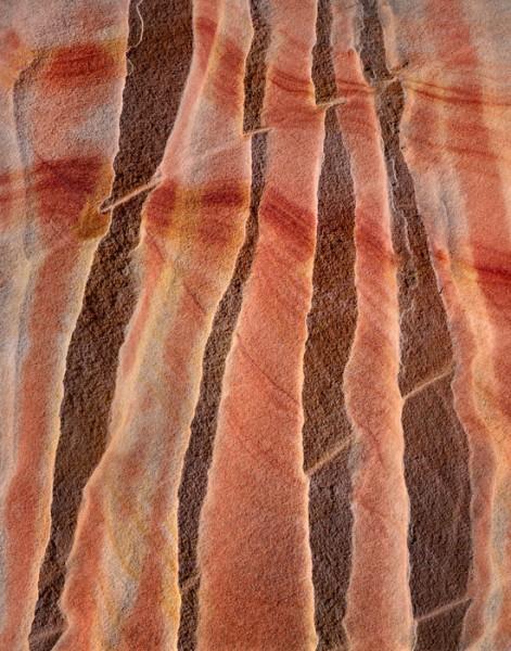 Sandstone Ridges, Parallel Patterns, Colorado Plateau