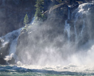 White Cascade, Glen Aulin, Yosemite