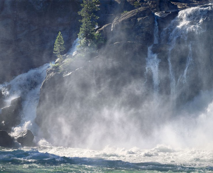 White Cascade, Glen Aulin, Yosemite