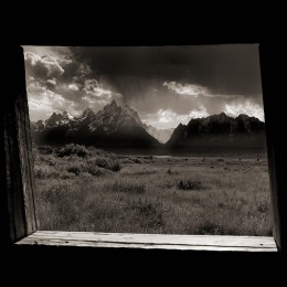 Window to the Past, Teton Nat'l Park, WY (A)