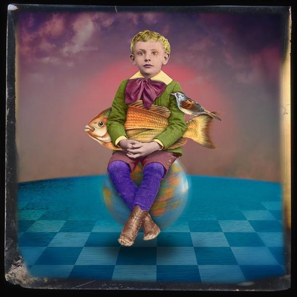 Boy on a Globe (Rotation of the Earth)