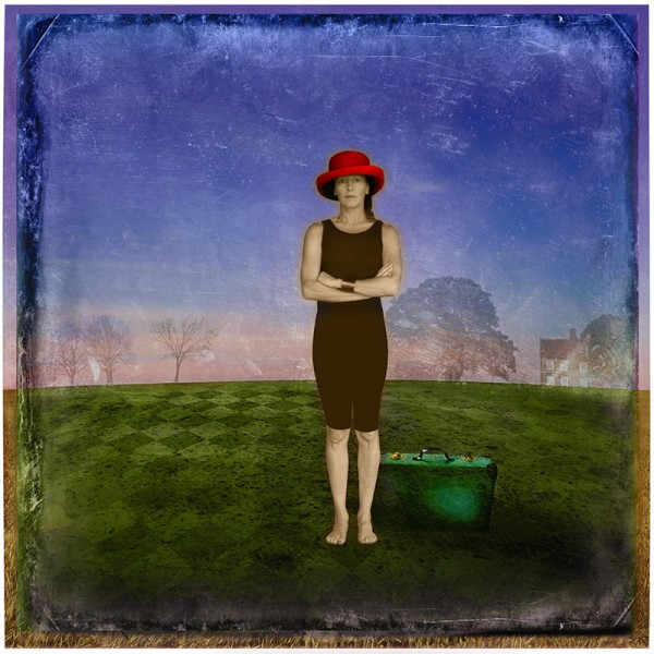 Red Hat and Suitcase
