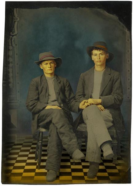Two Men, Hidden
