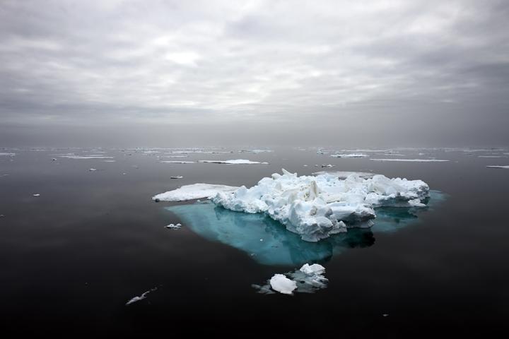 Sea Ice Remnant, Svalbard