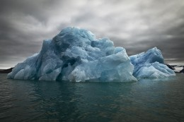 Blue Underside Revealed II, Svalbard