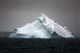 Falling Down Iceberg, Antarctica