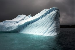 Breaching Iceberg, Greenland