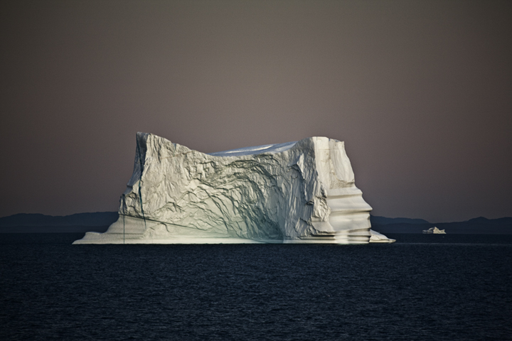 Iceberg in the Evening, Greenland