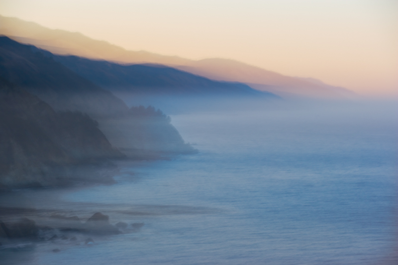 Sunrise, Ptarmigan Point, Big Sur