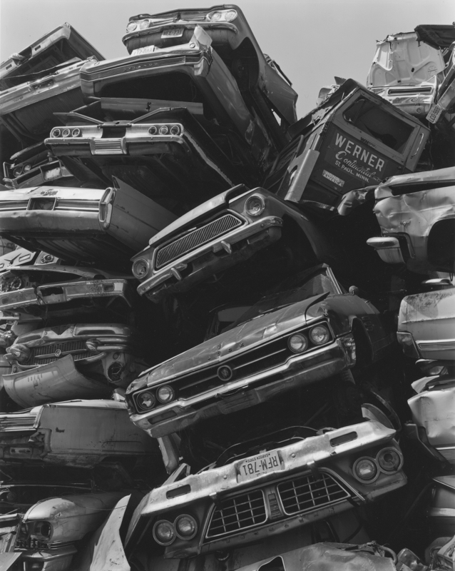 Junked Cars, Newark, NJ by George Tice | Susan Spiritus Gallery