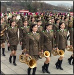 Female Army Band, Grand Monument on Mansu Hill