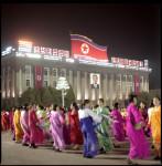 Kim II Sung's Birthday, Kim II Sung Square, N. Korea