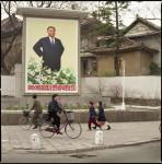 Street, Kaesong, N. Korea