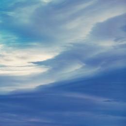 Azure Morning Clouds, Colorado
