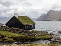 Black Church, Fuglafjordbur, Faroe Islands