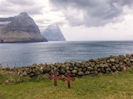 Church Graveyard, Vidareidi, Faroe Islands