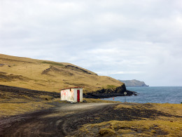 Shipwreck Hut, Haimaey, Iceland