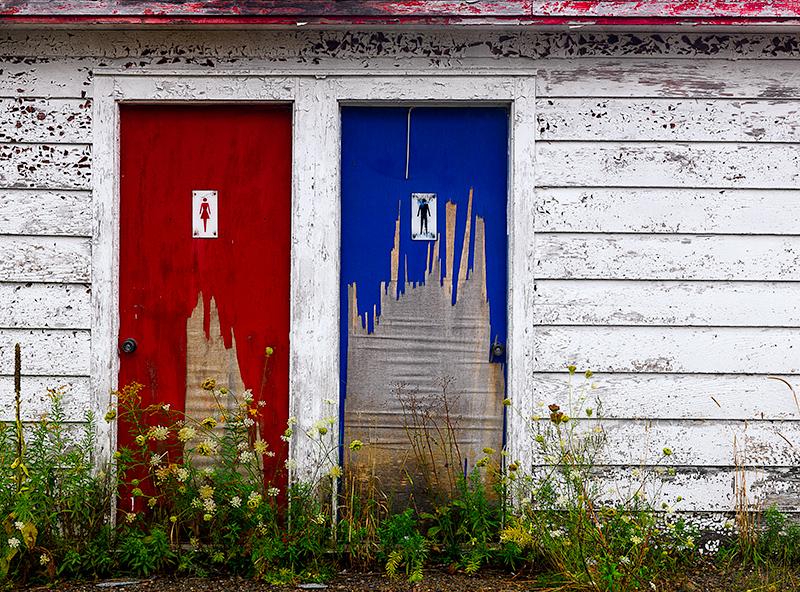 Abandoned Cafe. Creighnilish, Nova Scotia