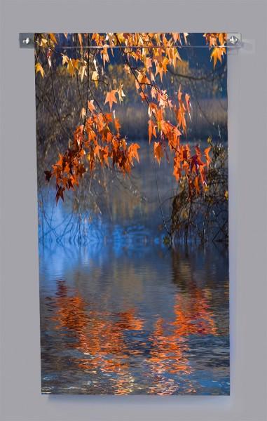 Autumn Touches the River