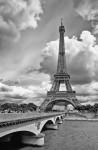 Eiffel Tower from Pont de Lena