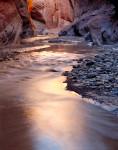 Reflections, Paria River, Vermillion Cliffs, Utah