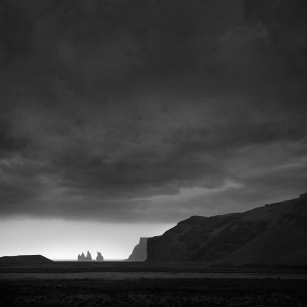 Storm Clouds Over Reynisdranger