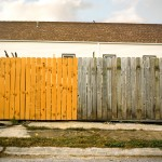 Two Tone Fence