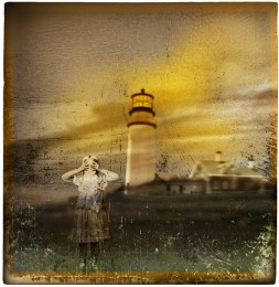 Girl at a Lighthouse