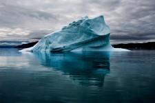 Iceberg with Seal Blood, Qassiarsuq, Greenland