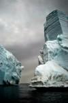Stranded Iceberg Detail, Cape Bird (A)