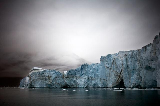 Brea Glacier, Scoresbysund, East Greenland