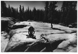 On the Great Plain Rock, Yosemite (#7435-33)